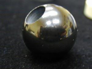 silicon nitride ball valve component