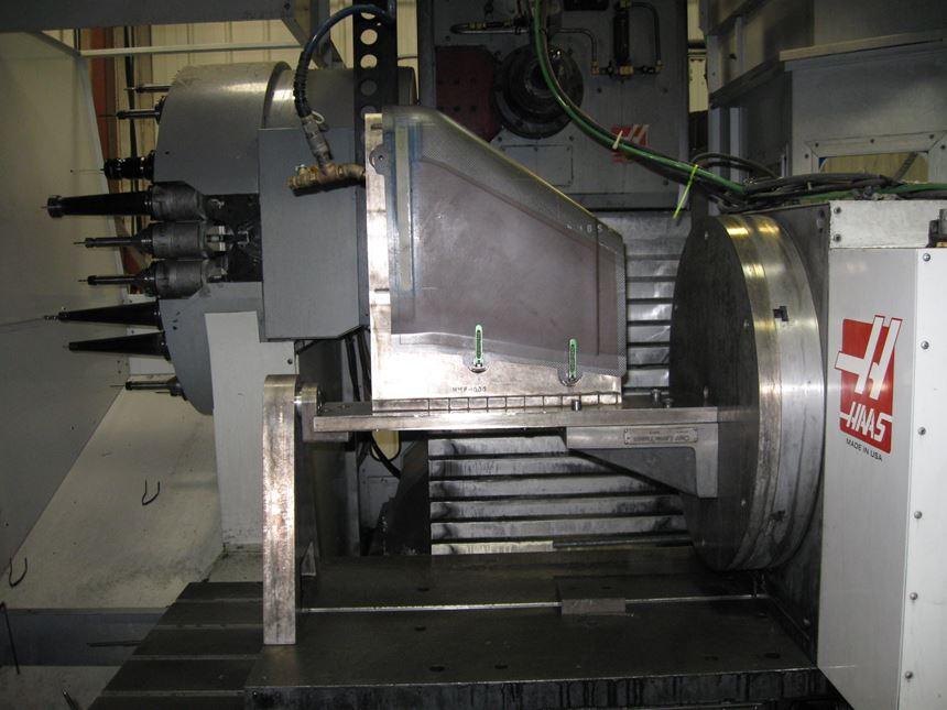 composites vacuum fixture