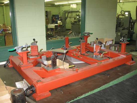 composites clamping fixture