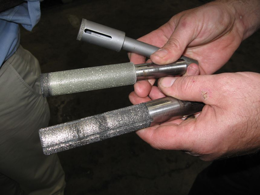 diamond plated milling tools