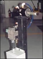 Pneumatically driven tool