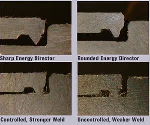 Poor ultrasonic welds