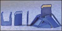 Portable memory card