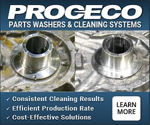 PROCECO parts washers and cleaning systems