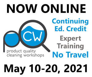 Online Cleaning Workshop May 10 to 20 register now