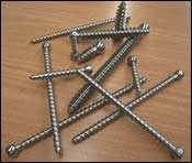production of bone screws