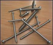 production of bone screws