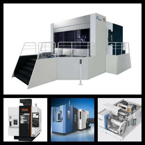 A variety of machining centers highlighted in Modern Machine Shop's April product spotlight