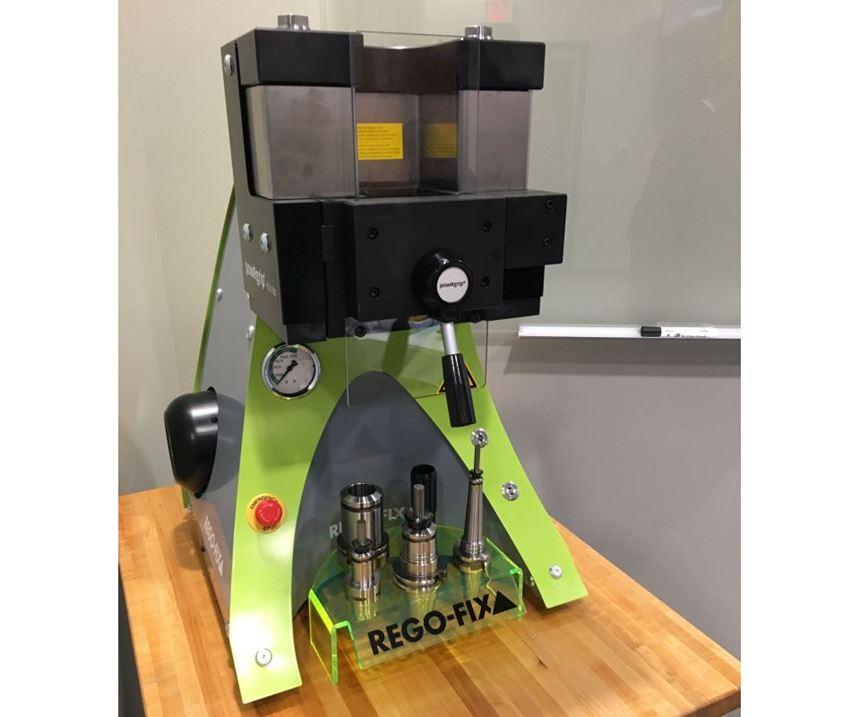PowRgrip tool clamping system