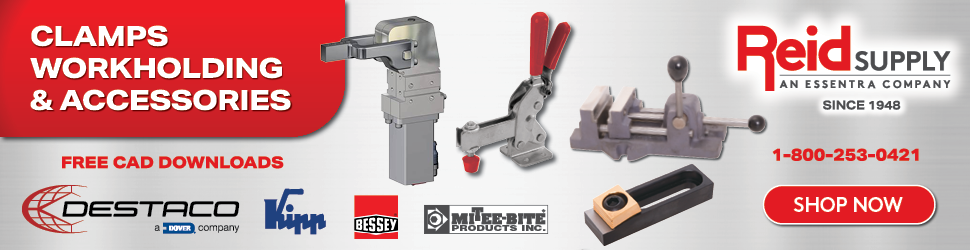 Clamps, Workholding & Accessories
