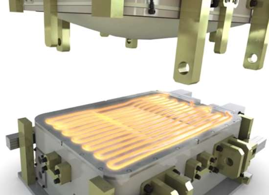 Induction Dual Heating system