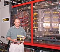 Rotary center-stack system