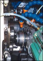 Rotary sawing system
