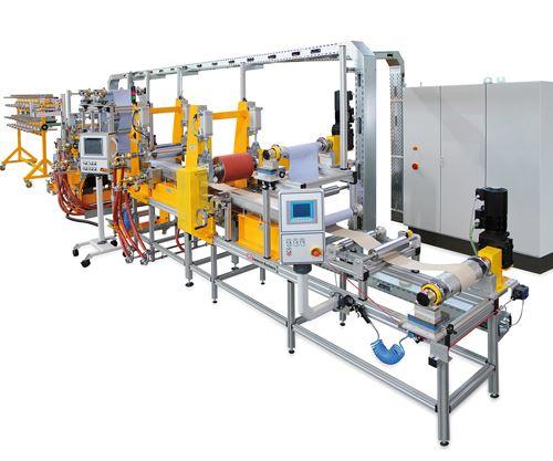 Roth Composite Machinery prepregging line