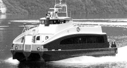 Rygerkatt all-carbon fiber composite passenger ferry