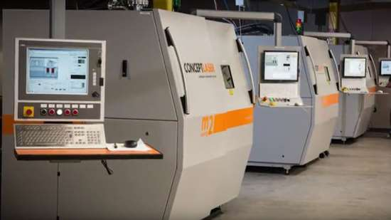 Concept Laser metal 3D printers