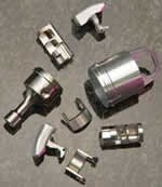 sampling of parts