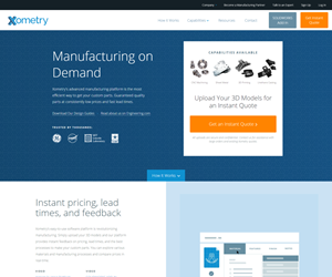 Xometry website