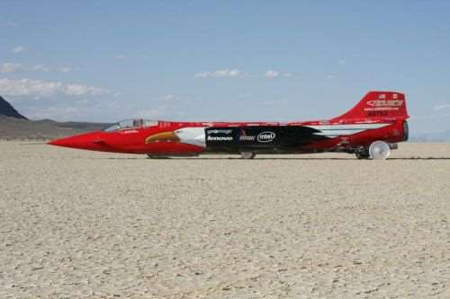 adapted F-104 fighter jet