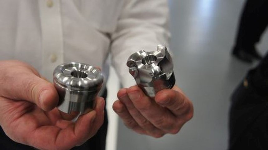 five-axis cutter body machining