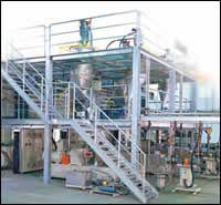 Semi-works plant