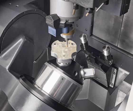DMG MORI's second-generation Ultrasonic 20 Linear