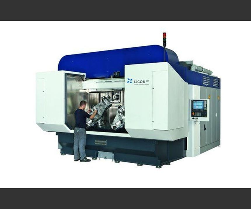 Licon's LiFlex series horizontal, twin-spindle and five-axis machining centers