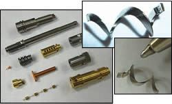 small and complex parts