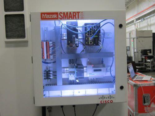 Mazak's SmartBox for the IIOT