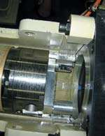 Trunnion spindle