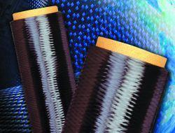 Spools of carbon fiber tow