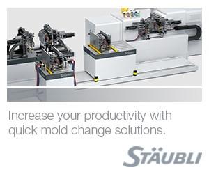 Stäubli quick mold change solutions