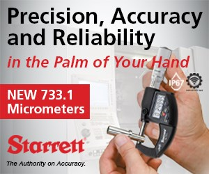 Starrett 733.1 Micrometers