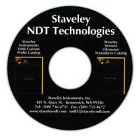 Staveley NDT testing instruments catalog CD-ROM