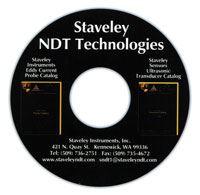 Staveley NDT testing instruments catalog CD-ROM