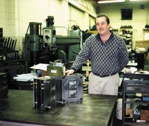 David Meeks, vice president of Imperial Tool & Manufacturing