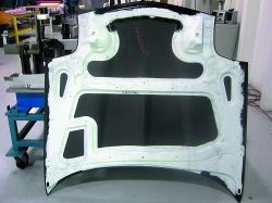 Bonded hood assembly