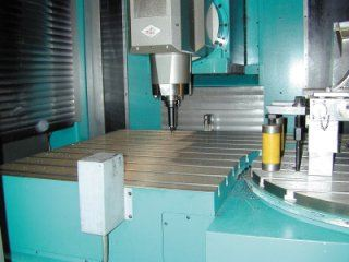 The OMV model HS-332 high-speed five-axis machining center