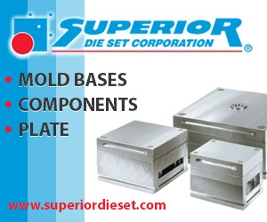 B-Series Mold Bases, accepting orders today.