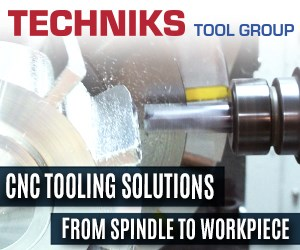 Techniks tool group banner 5-axis CNC machining