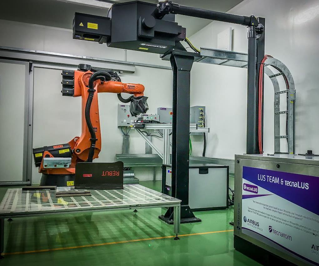 tecnaLUSaerospace manufacturing