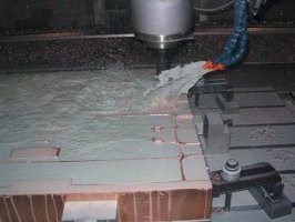 High-speed machining of a mold