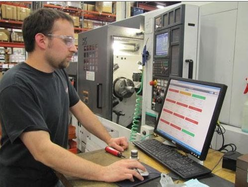 lead CNC programmer Nate Price