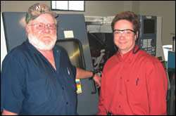 First piece of CNC equipment Acquired by Bell-Memphis