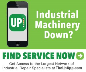 Industrial Machine Repair, phone, UP! App