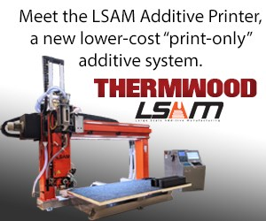 与LSAM增材打印机在CAMX 2021见面