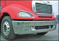 Three-piece bumper