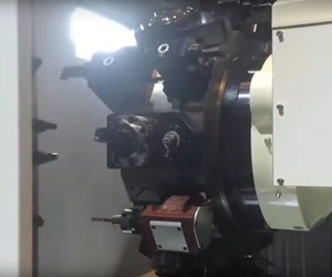 three-stack turret lathe with ATC
