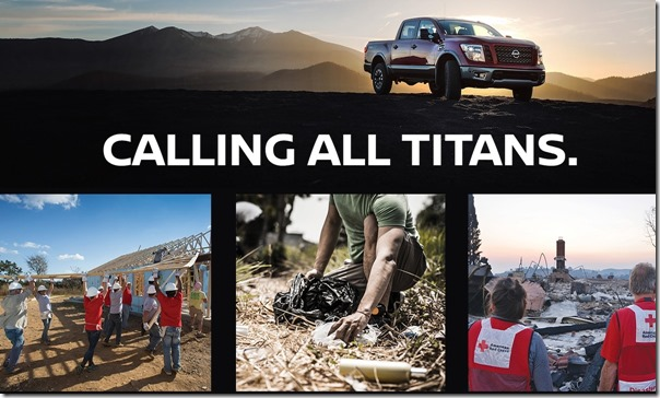 Nissan is Calling All TITANS to serve