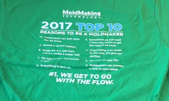 Amerimold Presents MMT's Top 10 Reasons to Be a Moldmaker
